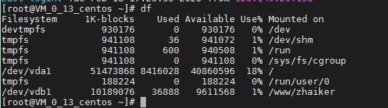 360截图164803099893103 【技术笔记】Centos挂载硬盘完整图文教程(查看、分区、格式化、挂载)磁盘